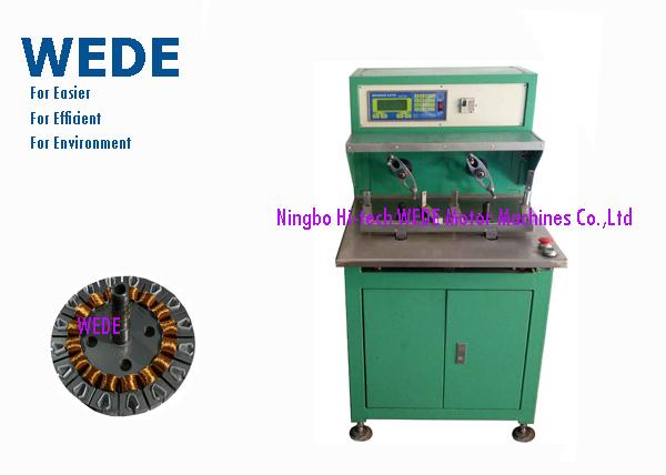 Fast Flyer Style Manual Coil Winding Machine , External Armature Motor Stator Winding Machine