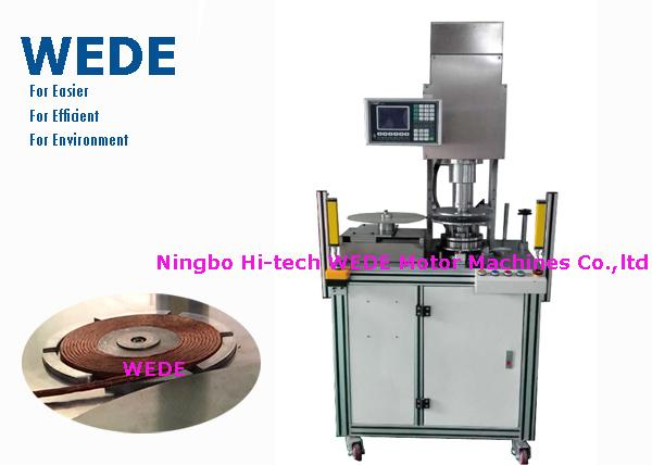 Multi Rings Copper Coil Making Machine , Dense Copper Wire Making Machine