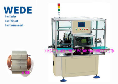 China Adjustable 3 Phase Motor Winding Machine , Self Lock Automatic Coil Winding Machine  supplier