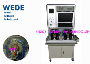 China Automatic Armature Testing Machine Double Stations For Rotor 0 - 2800V Hi - Pot Range supplier