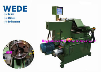 China CPU Controlled Hydraulic Lathe Machine , Ceiling Fan Rotor / Cover Commutator Turning Machine With Multi Cutters supplier