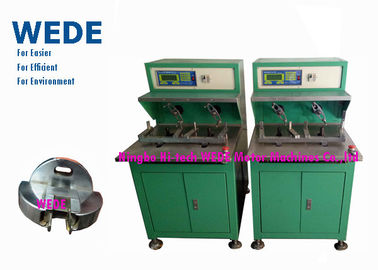 China Fast Flyer Style Manual Coil Winding Machine , External Armature Motor Stator Winding Machine supplier