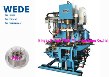 China Pressure Rotor Vertical Die Casting Machine For Rotor 4 Rotary Stations Cycle Time 8 Seconds supplier