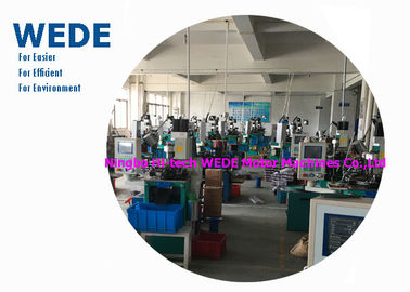 1 Motor Vertical Electric Motor Winding Machine , Automatic Power Transformer Winding Machine