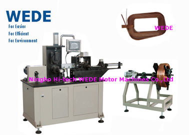 China Automatic Transformer Winding Machine , Paper Feeding Wire Winding Machine  supplier