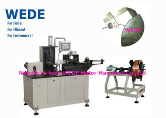 China 3kw Flat Wire Winding Machine With Insulation Paper Inserting Machine supplier